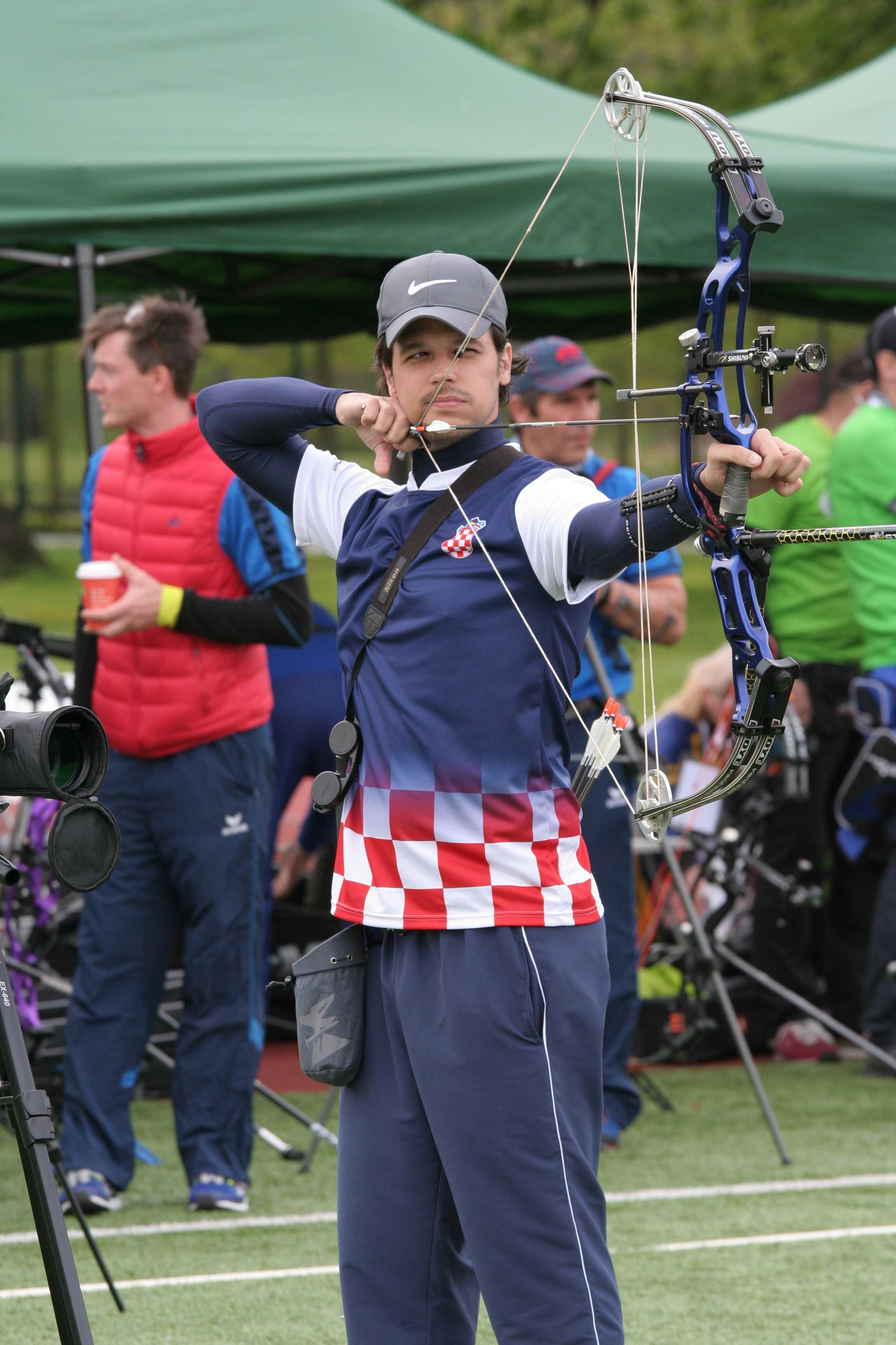 Matija Mihalić osvojio srebrnu medalju u olimpijskom luku ...