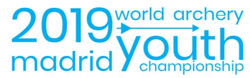 Sportska Hrvatska Madrid 2019 World Archery Youth Championships